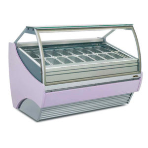 Commercial Gelato display freezers