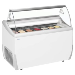 Standard Gelato display freezers